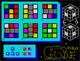 Virtual Cube Rubik 1